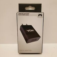 Sony PlayStation 1 PS1 Classic USB AC Adapter Brick YOK-Brand EB674 5V/1A/5W New