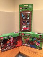 LEGO Minecraft 21139, 21138, 853609 BRAND NEW The Nether Fight - The Melon Farm