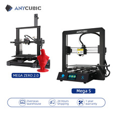 ANYCUBIC Mega S/Mega Zero 2.0 FDM 3D Drucker bausatz Hohe Präzision TPU/PLA/ABS