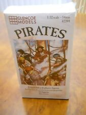 GLENCOE MODELS 1/32ND SCALE PIRATE FIGURES (16 ASST), NEW IN SEALED BOX