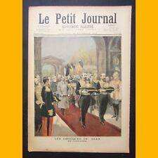 LE PETIT JOURNAL Supplément illustré LES OBSÈQUES DU TSAR 25 novembre 1894