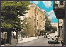 ALESSANDRIA SANT'AGATA FOSSILI 01 AUTOMOBILE d'EPOCA Cartolina viaggiata 1972