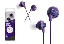 Purple Elecom IN20 Stereo Canal Type In-Ear Headphones Earbuds