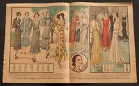 'ECHO DE LA MODE' FRENCH VINTAGE NEWSPAPER SUMMER ISSUE 1 JUNE 1930