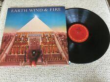Earth, Wind & Fire All 'n All Pop Record lp original vinyl album w/ giant poster