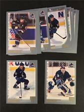 2000/01 Topps Vancouver Canucks Team Set 13 Cards
