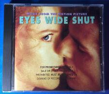 Eyes Wide Shut rare Motion Picture Soundtrack Promo Cd Chris Isaak Jocelyn Pook
