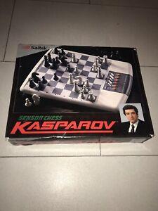 Saitek Electronic Sensor Chess Kasparov Set