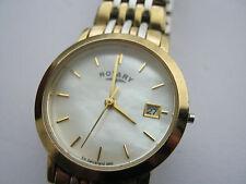 "Rotary  Ladies Bi Metal Rotary Quartz Wrist Watch, "" Windsor """