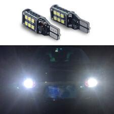 2x 1000lm 921 W16W T15 White 15-SMD Error Free LED Bulb Back Up Reverse Light