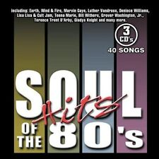 VARIOUS ARTISTS - SOUL HITS OF THE 80'S [SONY] NEW CD