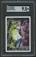 2019-20 DONRUSS COMPLETE PLAYERS LUKA DONCIC SGC 9.5