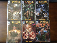 AMERICAN LEGENDS COMIC SET # 1-5 + VARIANT IMAGE COMICS DAVY CROCKETT