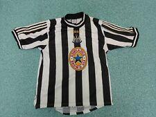 Vintage Newcastle United Jersey Medium Adidas No 69 Home Football Shirt