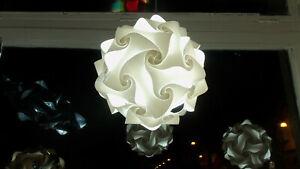 Lampadario soggiorno cucina bagno camera da letto FIOCCO 35 cm Lampada elegante