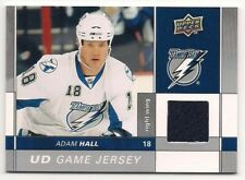 Adam Hall 09-10 Upper Deck 2 UD Game Jersey Game Used Jersey