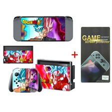 Dragon Ball Vinyl Cover Skin Stickers for Nintendo Switch with Screen Protector