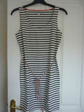Boden Cotton Round Neck Striped Dresses for Women