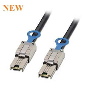 Molex SFF-8088 TO SFF-8088 External mini SAS to mini-SAS Cable 1FT DELL 00TFC6