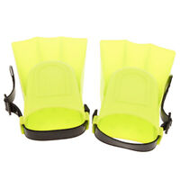 Kids Adjustable Flippers Fins Snorkel Scuba Swimming Diving Yellow