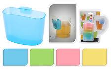 Set de 4 titulaires de thé coloré sac tisane sac titulaires attache à Cup Tasse &