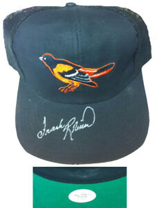 Frank Robinson Signed Baltimore Orioles Baseball Hat JSA Auto HOF