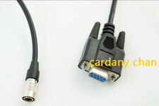 Brand new download data COM port cable for Pentax Total Stations