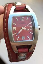 LADIES FOSSIL LEATHER STRAP WATCH