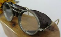 Vintage 1930's Willson Riding Aviator Hot Rod Steampunk Goggles Safety Glasses