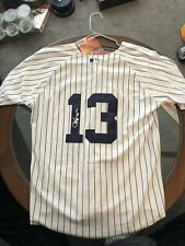 More details for new york yankees jersey signed no coa number 13 freepost uk