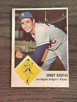 1963 Fleer Sandy Koufax #42 Los Angeles Dodgers HOF Set Break