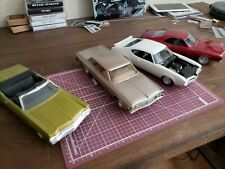 1/25 Scale Plastic Model Lot Chevy Oldsmobile Buick