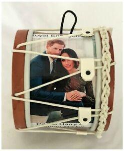 Royal Engagement Prince Harry and Meghan Markle Souvenir Drum