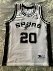 NBA San Antonio Spurs Ginobili jersey canotta maillot trikot camiseta Champion