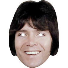 Cliff Richard Retro 1980s Celebrity Card Mask - All Our Masks Are Pre-Cut!