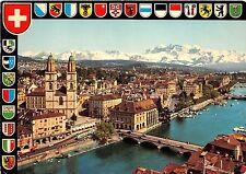 B63987 Zurich panorama Alpen  switzerland