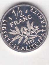 50 CENTIMES SEMEUSE 1/2 FRANC  1992 SERIE B.E