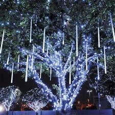 30CM Meteor Shower Falling Star Rain Drop Icicle Snow Fall LED Strip Xmas Lights