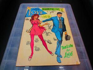1968 Superman DC Falling In Love Comic, Oct. #102