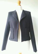 H&M BOLERO JACKET lined formal business work EUR34 US4 UK6/8 Excellent Condition