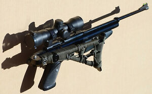 Crosman Custom air rifle carabine 177 Folding Stock