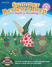 KUMON SUMMER REVIEW & PREP MATH & READING GRADE 2-3 - NEW BOOK