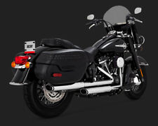 Vance And Hines 2018 Softail Heritage / Deluxe Chrome Twin Slash Slip ons 16879