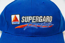 Citgo Supergard Racing Gasoline Petroleum Baseball Trucker Cap Hat Blue NEW