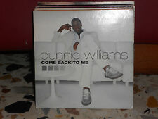 CUNNIE WILLIAMS - COME BACK TO ME + house remix version- cd cardsleave 2002