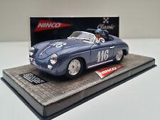 "SCX Scalextric Slot Ninco 50206 Porsche 356-A Speedster ""Sebring"""