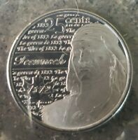 UNCIRCULATED Canada 25 Cent Quarter 2012 War of 1812 Tecumseh Frosted