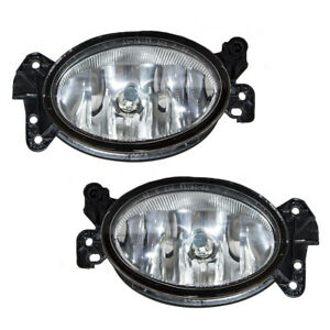 Pair Set Fog Lights Housing Assembly for Mercedes-Benz Class C E CLS G GL R SL55