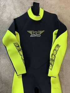 Men's 3/2 Wetsuit (Dacor) Large Scuba Gear Divers Diving Suit