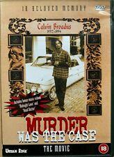 Murder was the Case The Movie DVD 1994 Rap Hip Hop Dr Dre Snoop Dogg Death Row